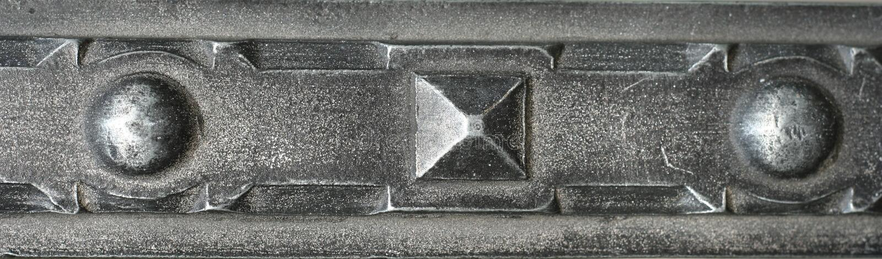 Download Fragment Metalic Door Royalty Free Stock Images - Image: 2324219