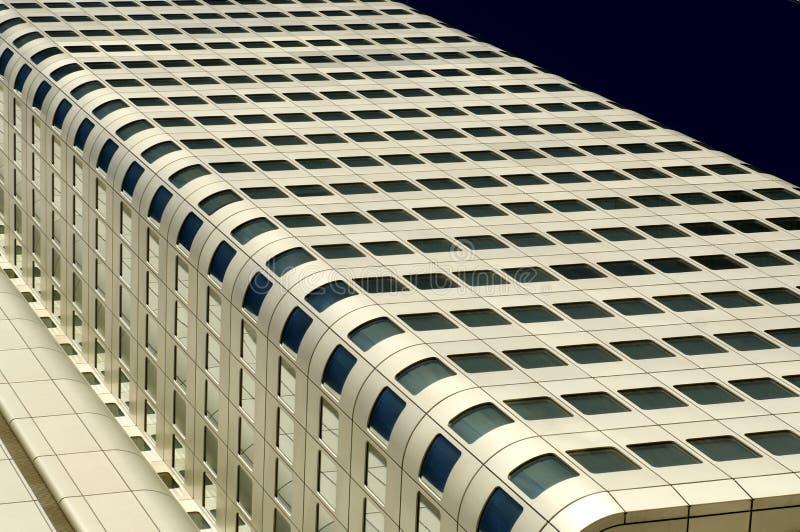 Fragment of modern building facade stock photos