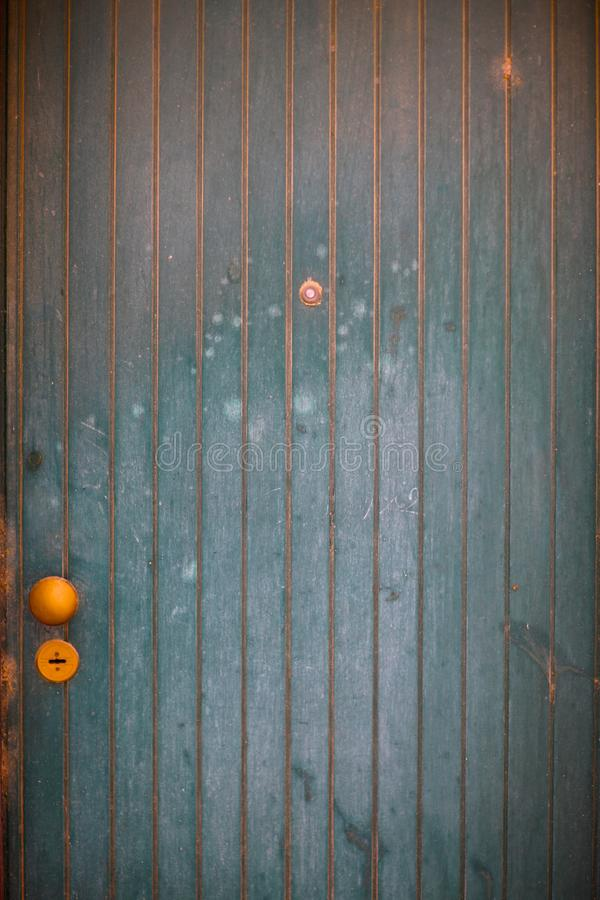 Fragment of a modern door royalty free stock photos