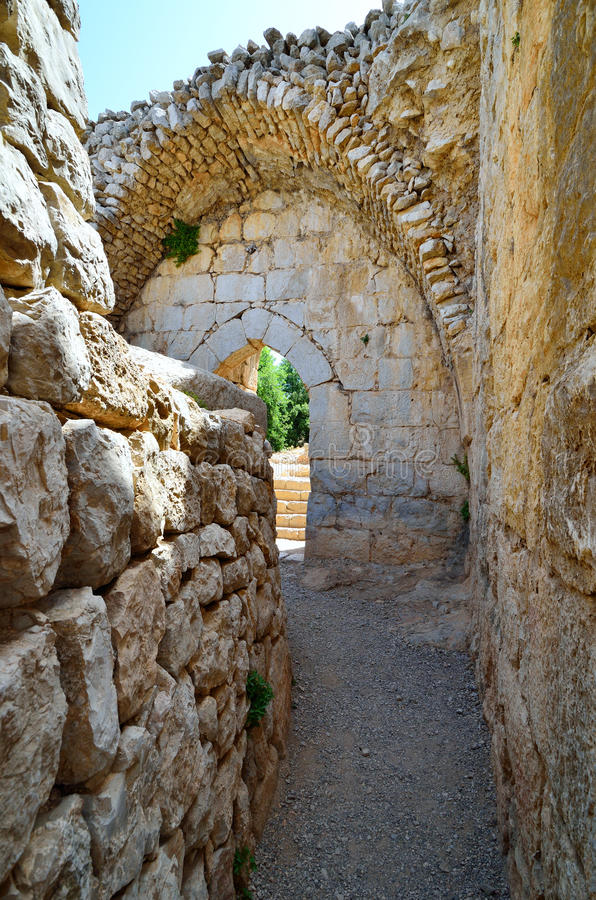 Download Ancient ruins stock photo. Image of israel, fortress - 30041056