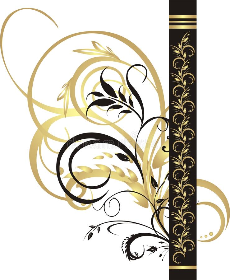 Free Fragment Of Floral Ornament For Design Stock Photos - 10169233