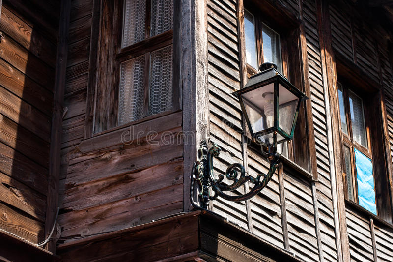 Fragment Of Old Wooden House