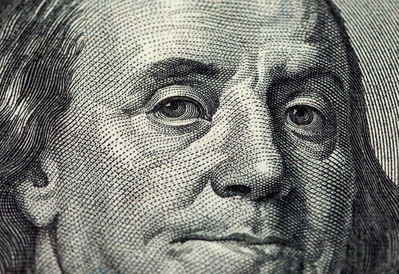 Download Fragment Of One Hundred Dollars Bill Stock Image - Image: 33800347
