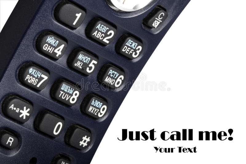 Download The fragment of a phone. stock image. Image of button - 12302913