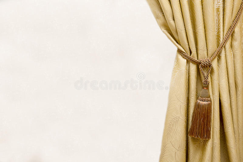 Download Fragment of a portiere stock image. Image of ornament - 27242873