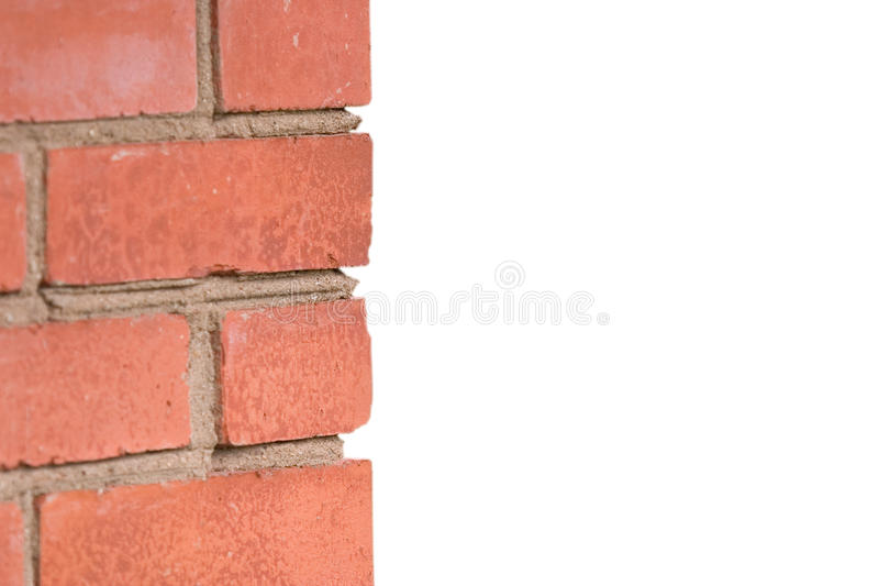 Download Fragment Of A Red Brick Wall Stock Photo - Image: 10109488