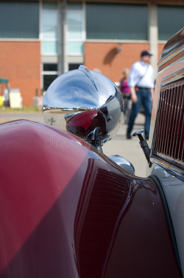 Download A fragment of a retro car stock photo. Image of chic - 25401070