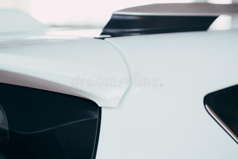 New car body parts royalty free stock image
