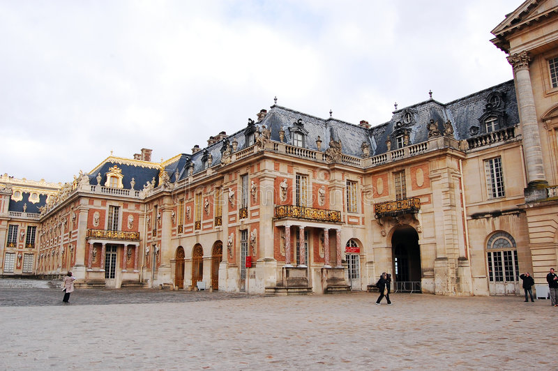 fragment v3 Versailles de château image libre de droits