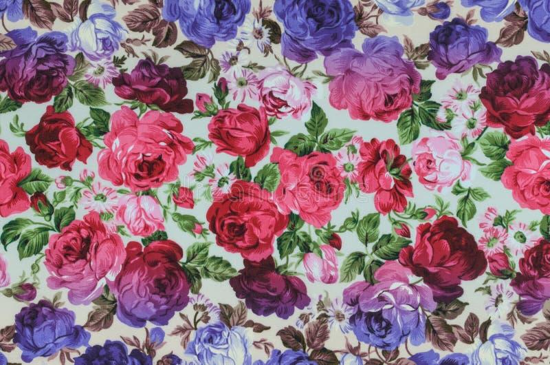 Fragment van kleurrijke retro tapijtwerkteksten, Fragment van kleurrijk r stock fotografie