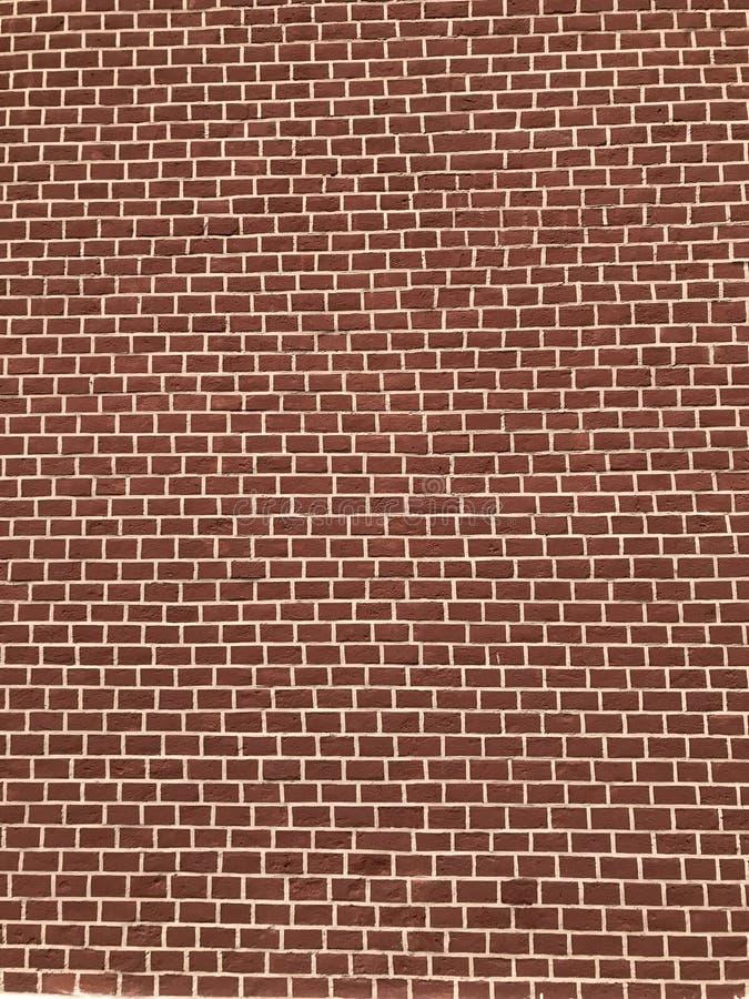 Fragment van rode bakstenen muur van het Kremlin Moskou, Rusland royalty-vrije stock fotografie