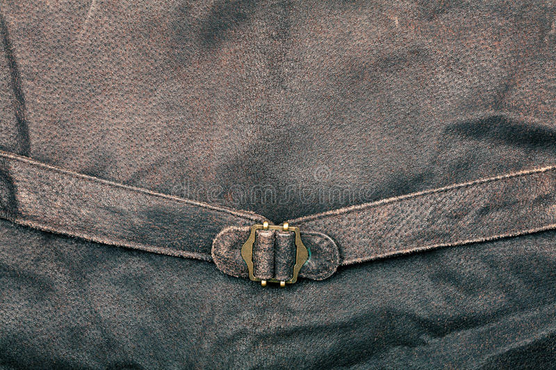 Download Fragment of vest stock photo. Image of leather, canvas - 24029544