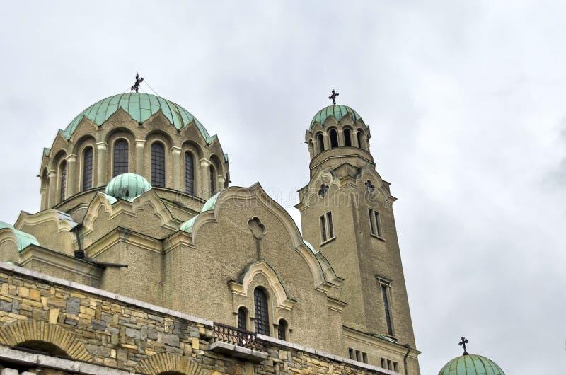 Fragment von der Kathedralen-Geburt Christi der Jungfrau stockbilder