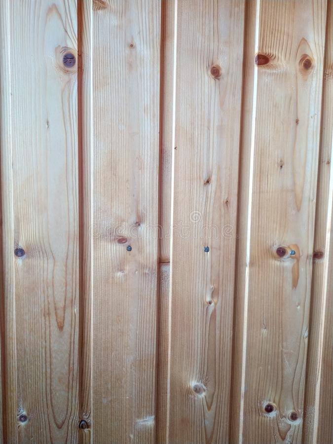 Fragment of a wood wall royalty free stock photo