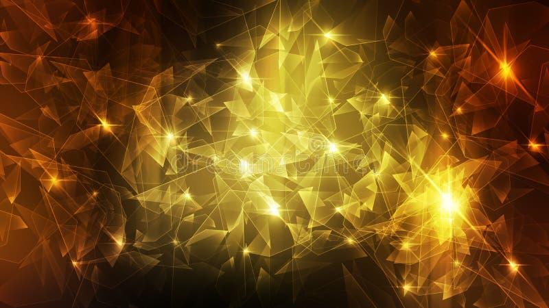 Fragmentation abstraite de l'espace de fond illustration de vecteur