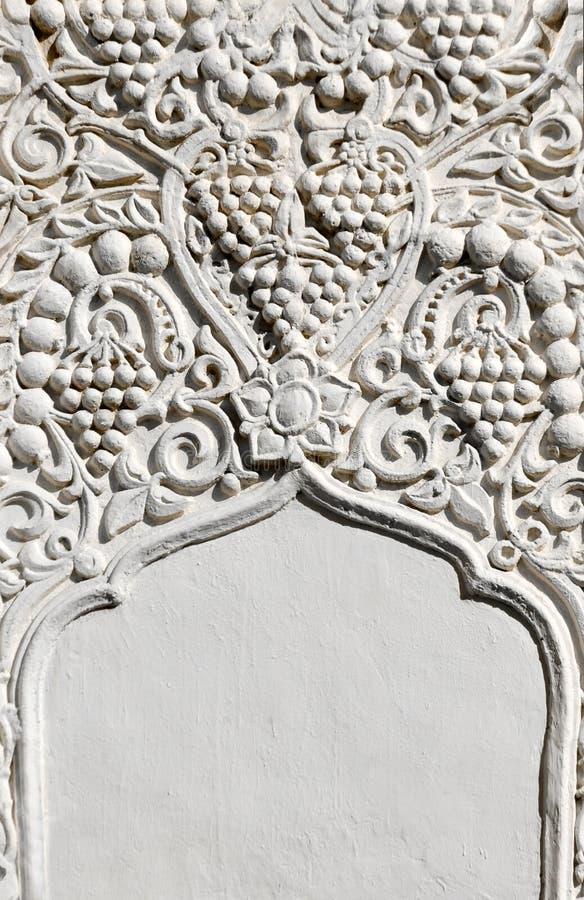 Fragmento arquitectónico no estilo do leste imagens de stock