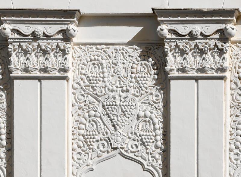 Fragmento arquitectónico no estilo do leste imagem de stock