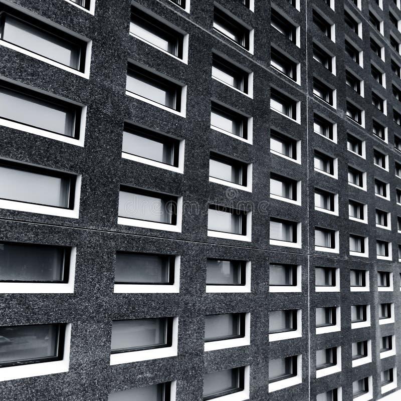 Fragmento da arquitetura na foto preto e branco foto de stock royalty free