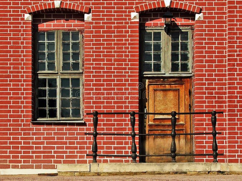 Fragmento da casa de Nethetlands imagens de stock