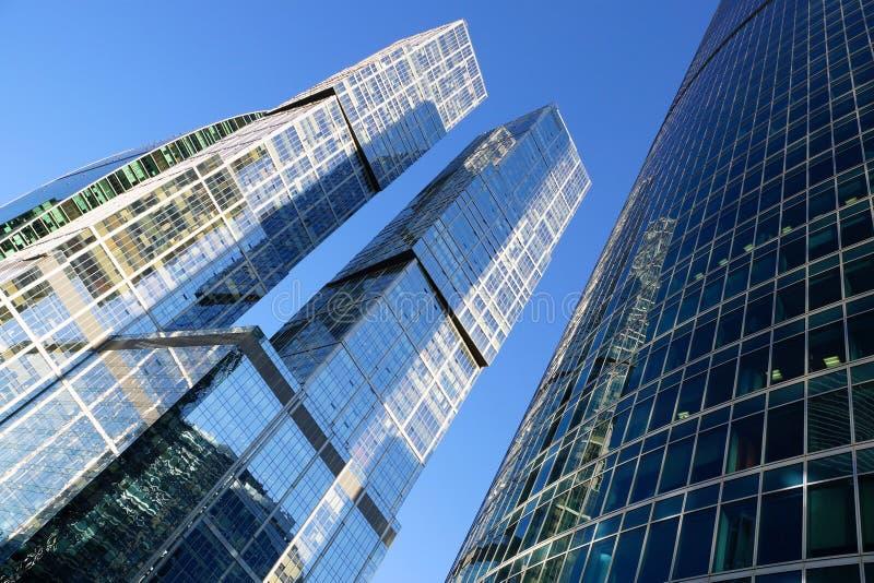Fragmento das torres ?da cidade complexa de Moscou ? fotografia de stock royalty free