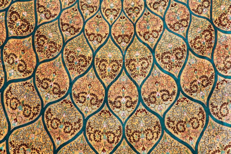 Fragmento de la alfombra imagen de archivo libre de regalías