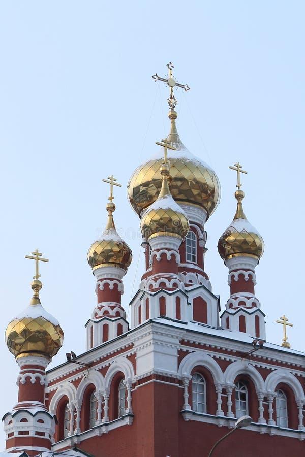 Fragmento de la iglesia de la ascensión, fundada en 1903, Russ imagenes de archivo