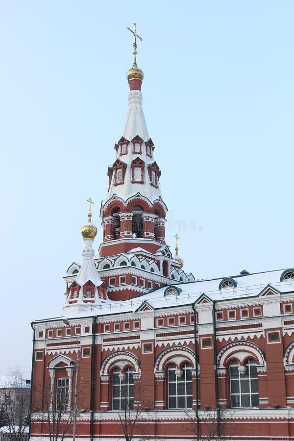 Fragmento de la iglesia de la ascensión, Russ imágenes de archivo libres de regalías