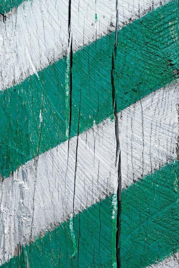 Fragmento de la madera pintada foto de archivo libre de regalías