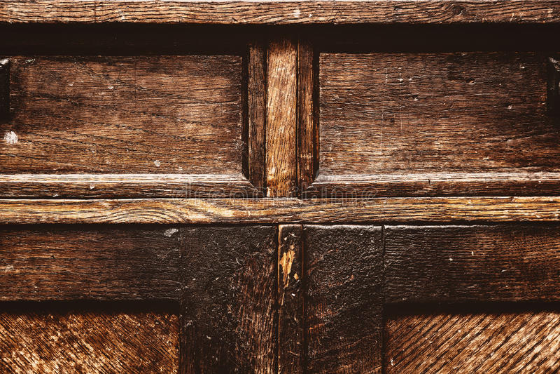 Fragmento de los muebles antiguos Superficie de madera del vintage fondo del grunge, vieja textura áspera imagen de archivo libre de regalías