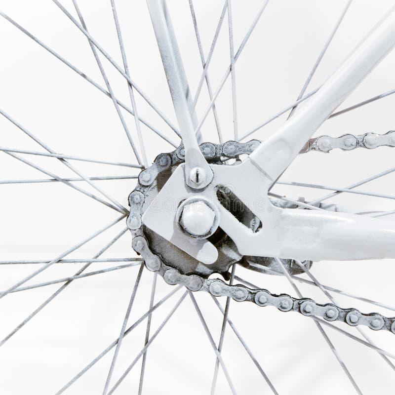 Fragmento de una bicicleta imagenes de archivo