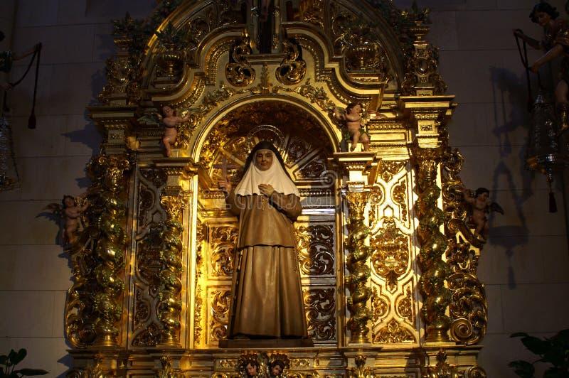 Fragmento del interior de Christian Catholic Cathedral fotos de archivo