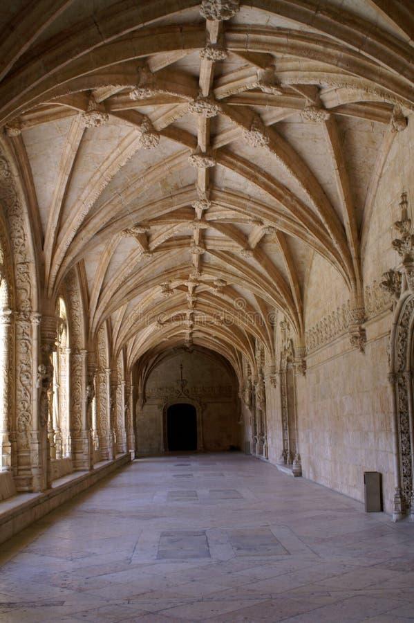 Fragmento del monasterio católico fotografía de archivo libre de regalías