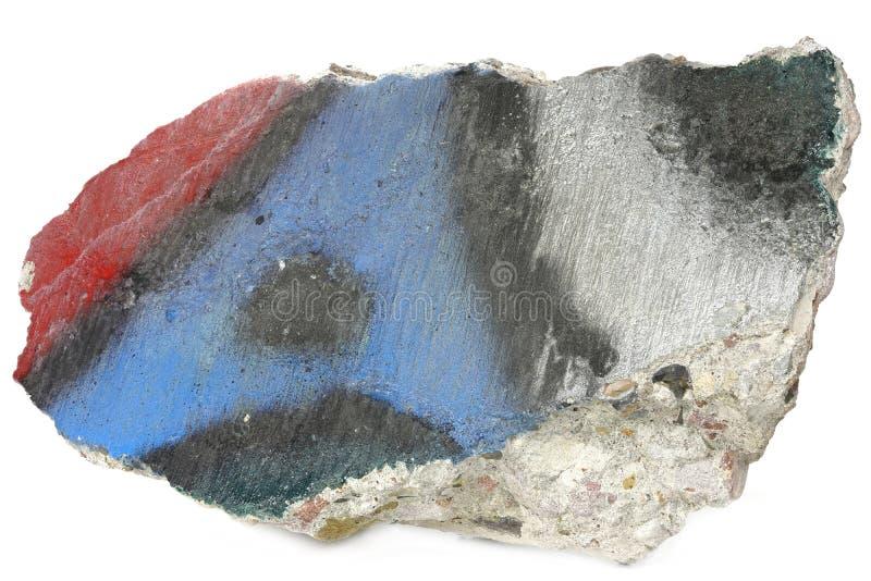 Fragmento del muro de Berlín fotos de archivo libres de regalías