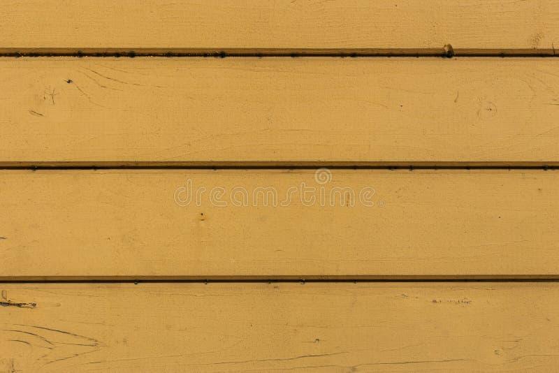 Fragmento do paneling de madeira amarelo imagens de stock