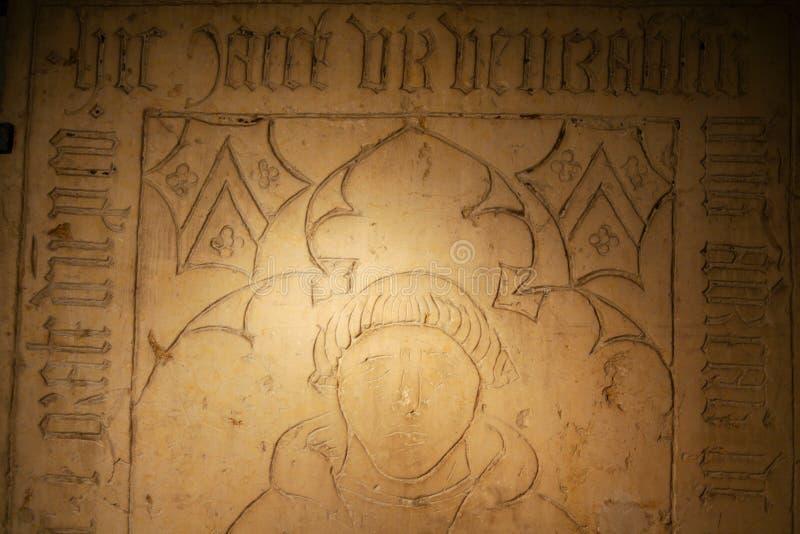 Fragmento Do Túmulo Grave Imagens de Stock