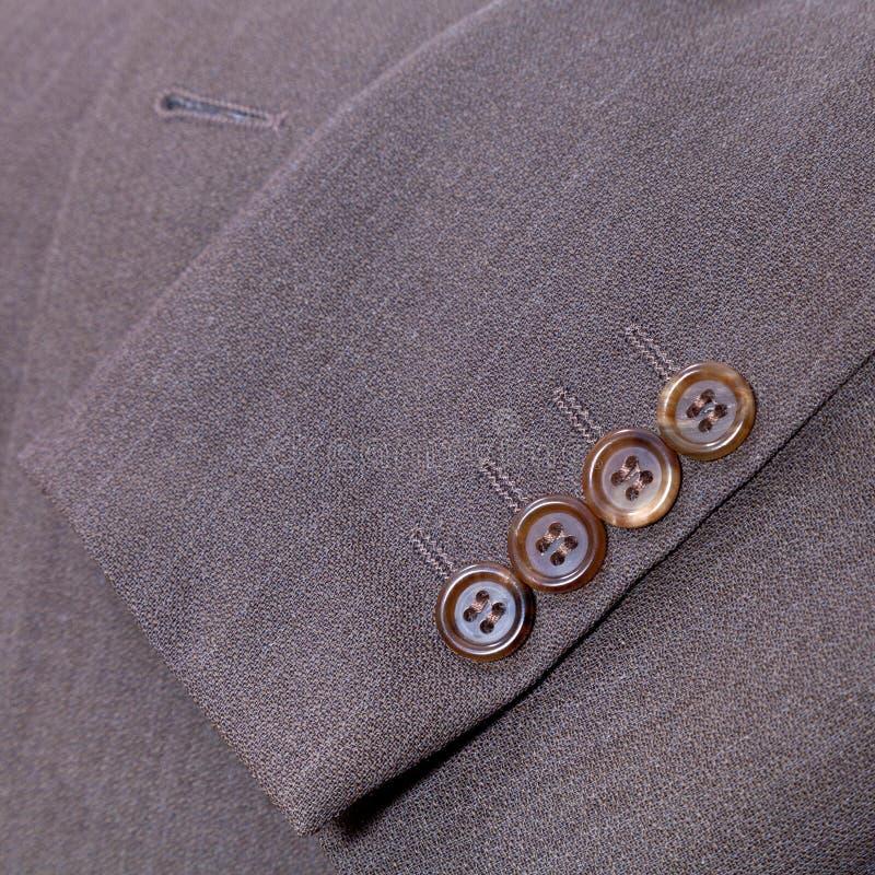 fragmento do terno dos homens de lãs foto de stock royalty free