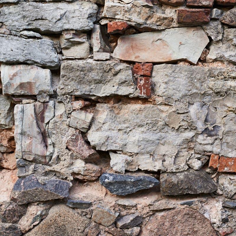 Fragmento velho da parede de pedra fotos de stock royalty free