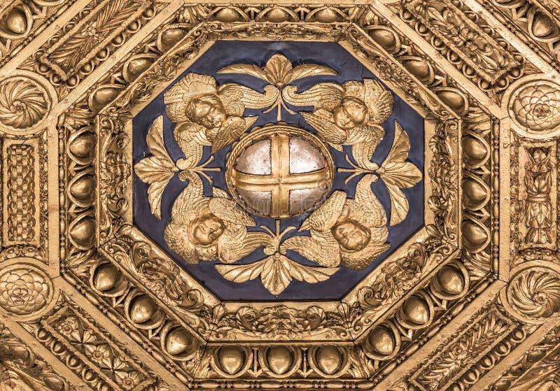 Fragmentontwerp van het plafond royalty-vrije stock afbeelding