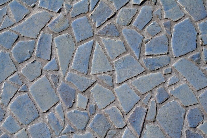 Fragmentos da telha fotografia de stock
