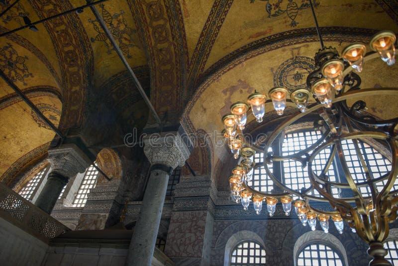 Fragmentos do interior da igreja de St Sophia imagens de stock royalty free