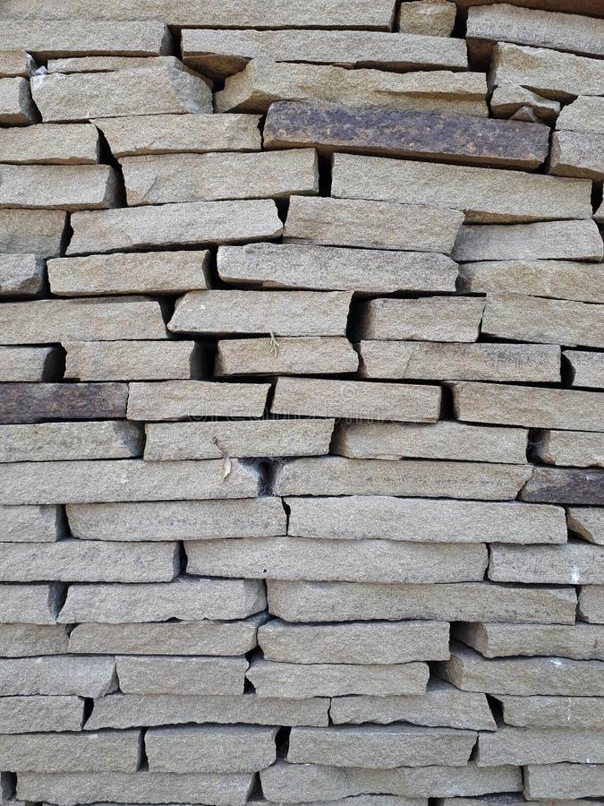 Fragments et fond du vieux mur de forteresse image libre de droits