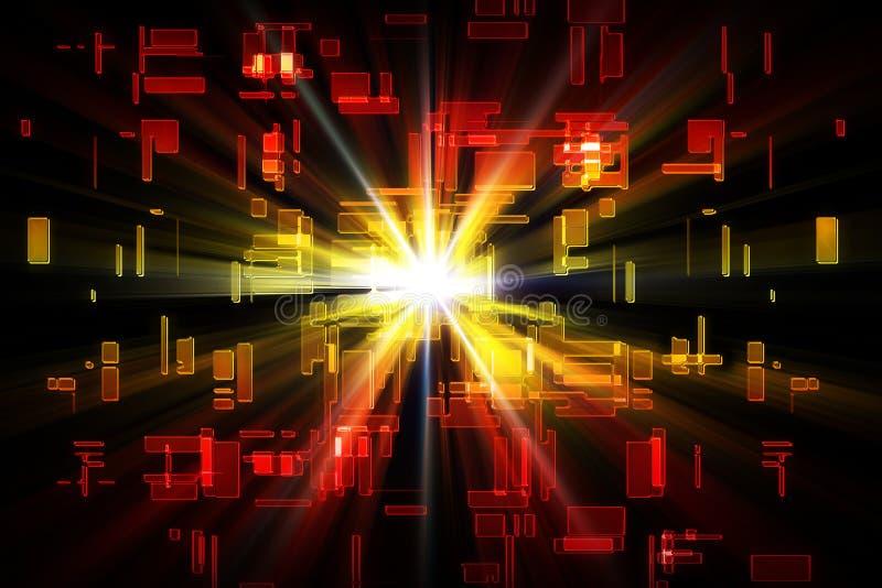 Download Fragments Flare stock illustration. Image of radiance - 22404091