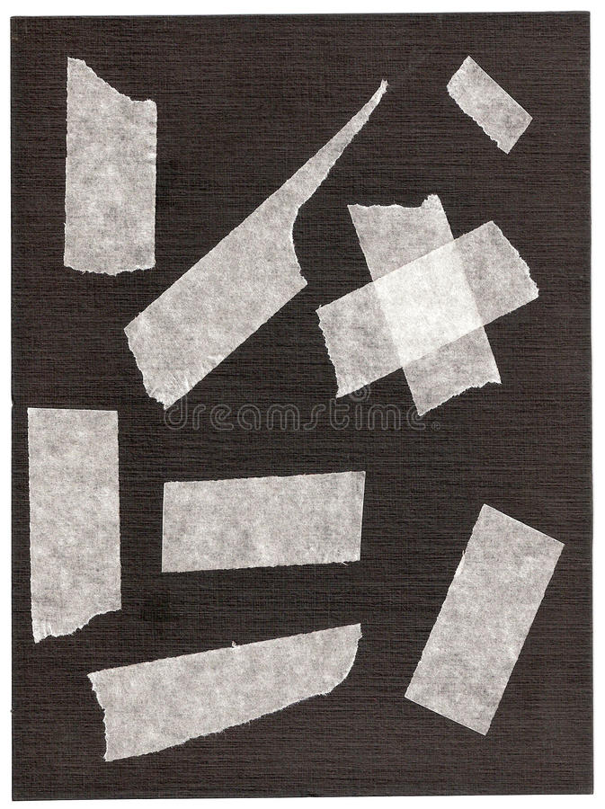 Free Fragments Of A Sticky Tape. Stock Image - 10548011