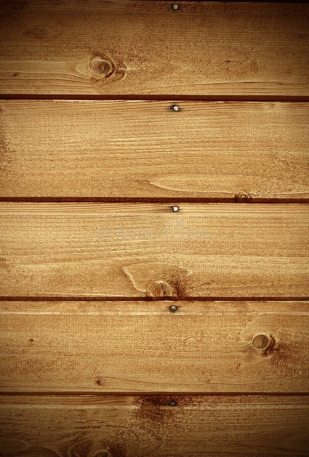 Fragnent da parede de madeira com pregos imagem de stock royalty free
