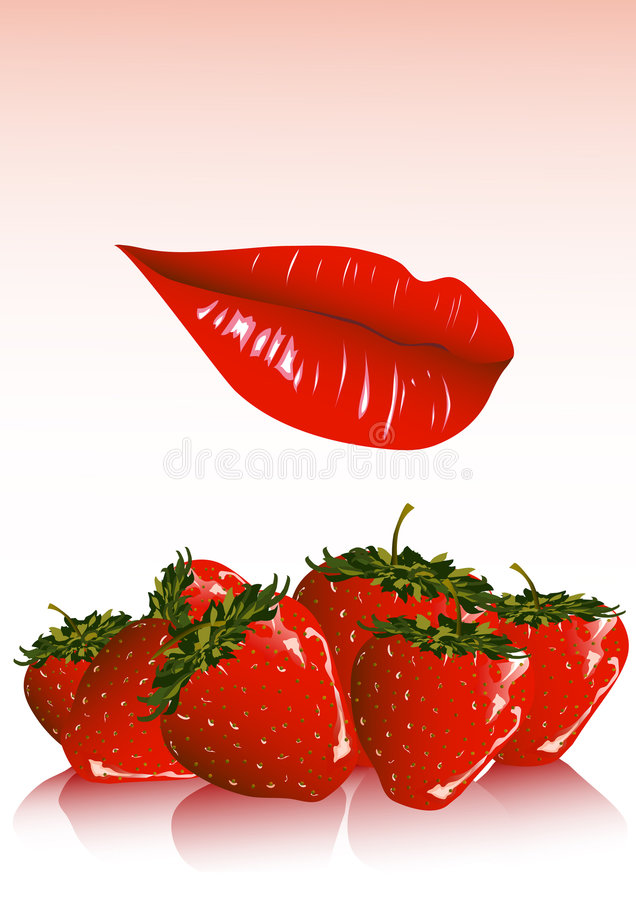 Fragola illustrazione di stock