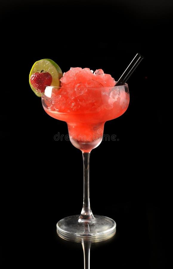 Fragola Margarita Cocktail fotografie stock libere da diritti