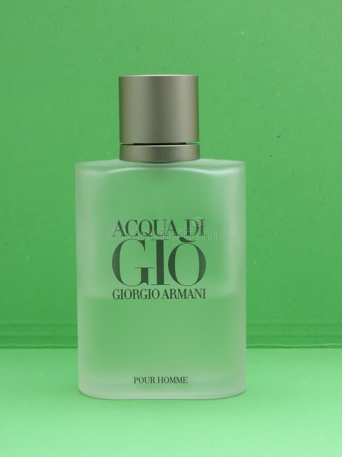 Fragrância de Acqua di Gio foto de stock royalty free