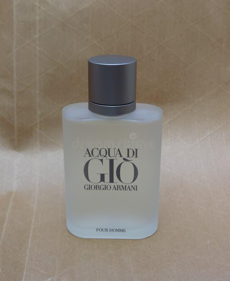 Fragrância de Acqua di Gio fotografia de stock royalty free
