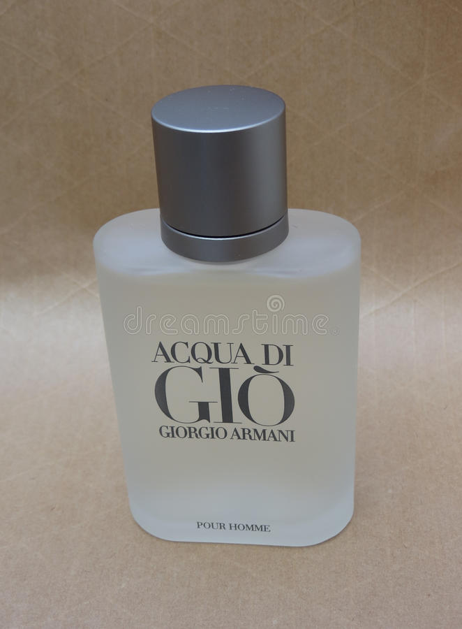 Fragrância de Acqua di Gio fotos de stock