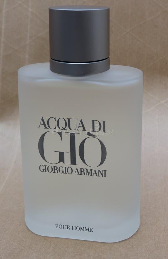 Fragrância de Acqua di Gio imagem de stock royalty free